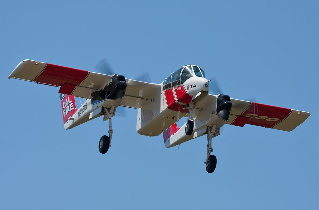 The OV-10 is Fighting Fires in California, and It's Doing a Great Job