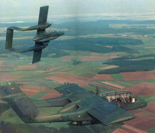 Overview of the OV-10 in the US Air Force