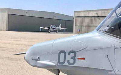 From Dream to Reality: First of Seven OV-10 Broncos Gets Ready to Take Flight
