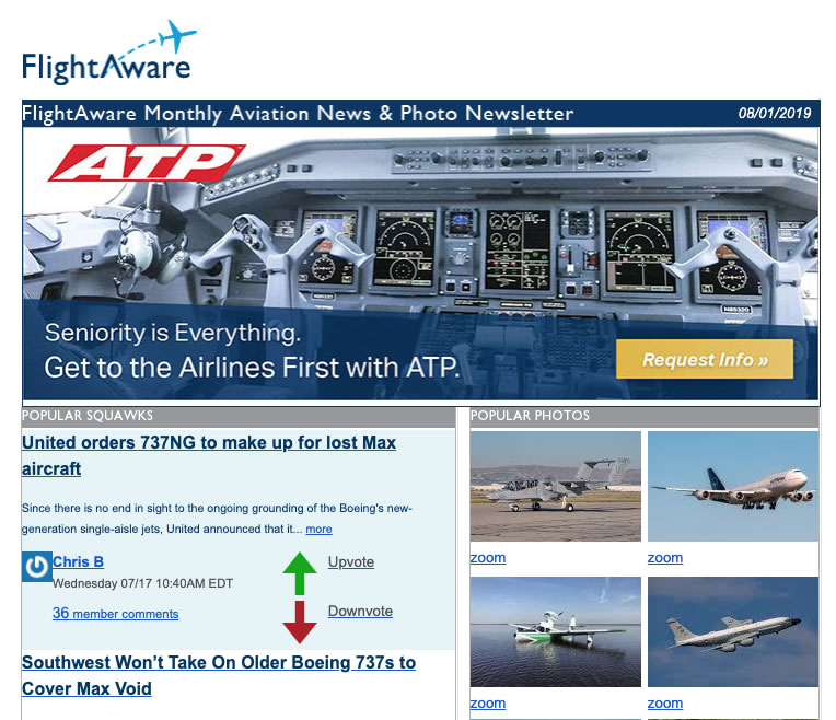 Popular on FlightAware
