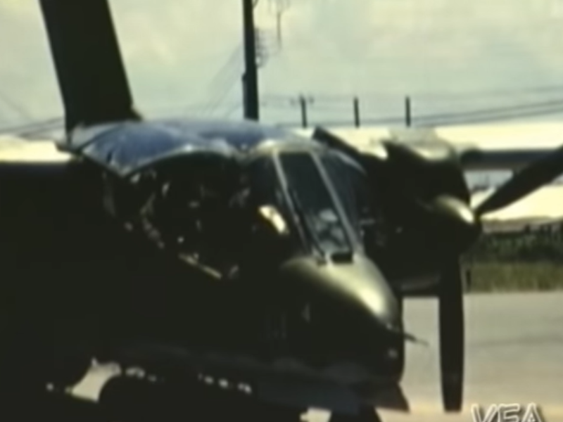 OV-10 Featured in VintageFilmArsenal