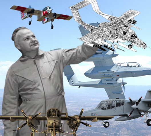 Top 5 Things We Love About the OV-10; In Memory of KP Rice who passed away December 26, 2019